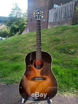 Gibson J45 Guitare Acoustique Edition Rare Rosewood + Ohsc Made In USA