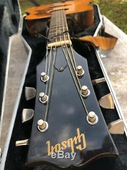 Gibson J50 Deluxe Ser # 300185 Made In USA Guitare Comprend Hard Case