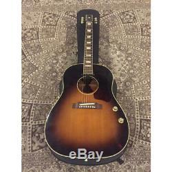 Gibson J-160e John Lennon Fabriqué En 2000 Avec Belle Item Certains Cadeau Rosewood