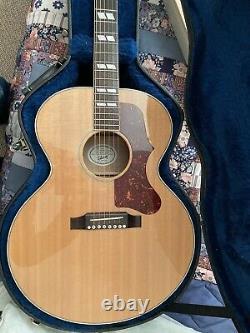 Gibson J-185 Guitare Acoustique Made In The Usa. Tous Les Bois Solides. Pas J-45 J-200