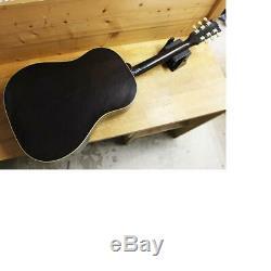 Gibson J-45 Fait En 1995 Bannière Logo 100 Anniversaire Modèle De Guitare Acoustique