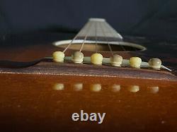 Gibson Made Carson J Robinson Kg-11 Vintage 1936 Sunburst Parlor Guitare