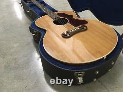 Gibson Sj-100 2006 Natural Jumbo Acoustique- Guitare Électrique Fabriquée Aux États-unis Avec Ohsc