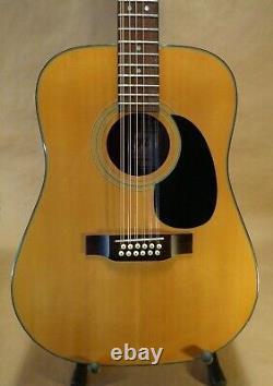 Goya 12 String Acoustic Guitar Fabriqué Par C. F. Martin Co. Modèle G415-n Main Droite