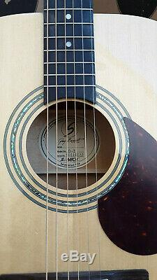 Greg Bennett D2 Guitare Acoustique, Zager Easy Play Fait, Rare Guitare Débutant
