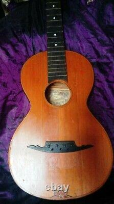 Guitare 3/4, Shikhovo (russie), 1927, Fabrication Artisanale