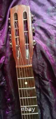 Guitare 3/4, Shikhovo (russie), 1933, Fait À La Main