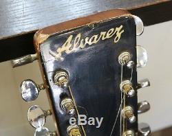 Guitare Acoustique 12 Cordes Alvarez Vintage Modèle 5021 Fabriquée Au Japon