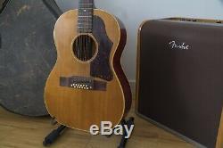 Guitare Acoustique 12 Cordes Gibson B-25 1964 Fabriquée Aux États-unis Avec Étui