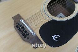 Guitare Acoustique 12 Fils Epiphone Ft-160n Texan-12 Fabriqué Au Japon Norlin
