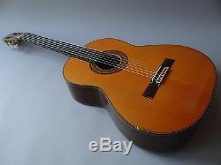 Guitare Acoustique Classique Asturias Fabriquée Par Kodaira Ast30 Solid Topcase 1970s