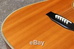 Guitare Acoustique Dreadnought Morris Md-505 1983 (fabriquée Au Japon)