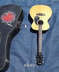Guitare Acoustique Epiphone Des Années 1970, Ft-130, Fabriqué Au Japon, Blue Label