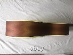 Guitare Acoustique Faite Main Mad Dog Petit Parleur Sunburst Spruce Solide Top