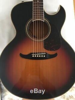 Guitare Acoustique Fender El Rio Début Des Années 80 Made In Japan Rare