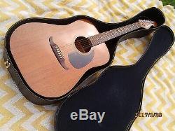 Guitare Acoustique Fender Newporter, Fabriquée Au Japon