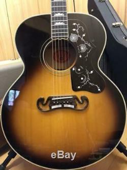 Guitare Acoustique Gibson J-200 Fabriqué En 1993 Magnifique Ems F / S