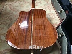 Guitare Acoustique, Guild Gad-40c Nat, Bois Massif, Fabriqué À La Main Guitare