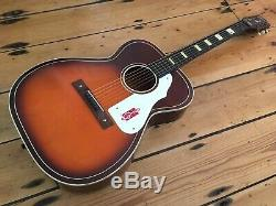 Guitare Acoustique Harmony H1143 Des Années 1960 Fabriquée Aux États-unis