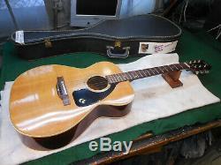 Guitare Acoustique Jumbo Aria Vintage Made In Japan, Rare Rare Top En Épicéa