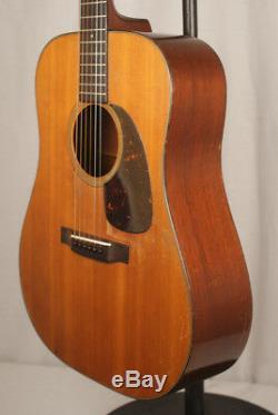 Guitare Acoustique Martin D18 1955 Avec Étui Moderne Martin Hardshell Fabriqué Aux États-unis