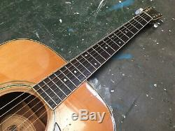 Guitare Acoustique Morris W-25 Dreadnought Fabriquée Au Japon Dans Les Années 1970