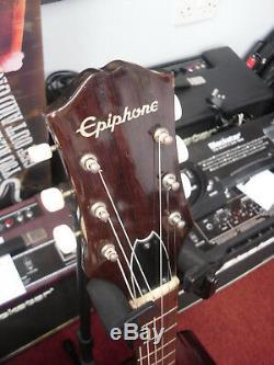 Guitare Acoustique Pleine Grandeur Epiphone Ft-140 Fabriquée Au Japon (version Du Début Des Années 80)