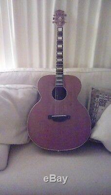 Guitare Acoustique Sherwood De Luxe Fabriquée Par Kays Chicago