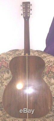 Guitare Acoustique Sur Mesure En Palissandre Brésilien 000-28 Martin, Spécifications 1999