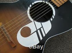 ' Guitare Blues Acoustique Parlour USA A Début Des Années Soixante Kay''note '