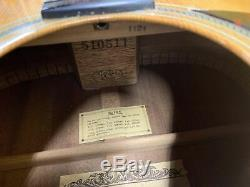 Guitare Electrique Acoustique De Fabrication Japonaise Avec Étui Alvarez Yairi 1976 Dy57