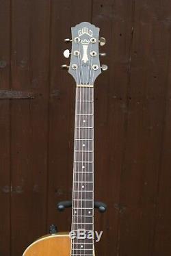 Guitare Électro-acoustique Guild F45ce Des Années 1990 Fabriquée Aux États-unis