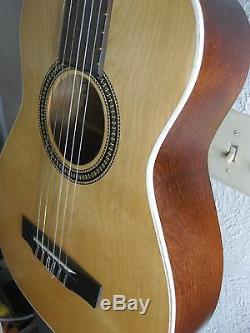 Guitare Harmony Des Années 1970, Modèle F-70, Etui Rigide Et Dur Fabriqué Aux États-unis.