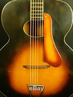 Guitare Kay Made Kamico Modèle 8457 1948 À Trou Ovale