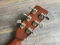 Guitare Occidentale Acoustique Morris W-15 1973 (fabriquée Au Japon)