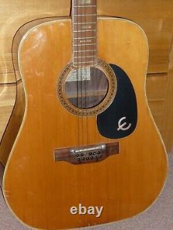 Guitare Vintage Des Années 1970 -12 Cordes Guitare Epiphone Ft-165 (made In Japan)