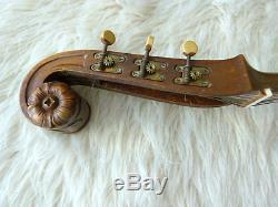 Guitare Vintage Par Ludwig Lautersac. Fait À La Main En Allemagne Vers 1915
