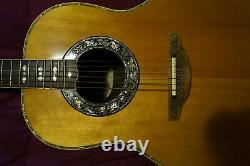 Guitarra Acustica Ovation Made In Usa, Modelo 1719, Vintage, Fissures De Péché
