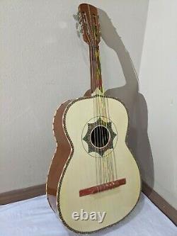 Guitarron De Cedro Fabriqué À La Main En Paracho Mexique Mariachi Guitarron Avec Gig Bag