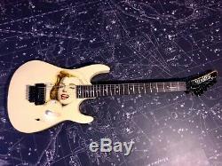 Hamer Chaparral Elite Merilyn Monroe Fabriqué Aux USA Guitare Électrique