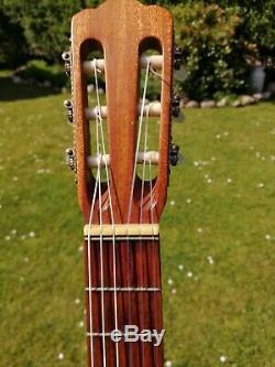 Helmut Hanika 1971 Guitare Classique Konzertgitarre Made In Germany