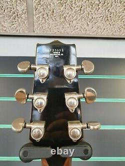 Heritage Hft-445 1989 Guitare Acoustique Naturelle Dreadnought Fabriquée À Kalamazoo