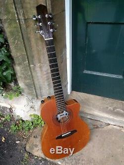 Hillier Fait À La Main Guitare Acoustique, Tous Les Bois Solides, Avec Pick-up