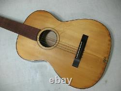 Hofner Vintage Acoustic Guitar Made In Germany 6 Strings Project