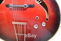 Hopf Guitare Archtop Acoustique Jazz Fait En Allemagne Avec Pick-up! Gitarre
