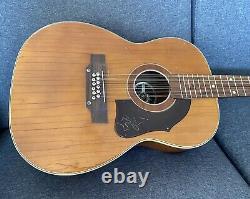 Hoyer 12 Cordes Guitare Acoustique Vintage Fabriqué En Allemagne 60