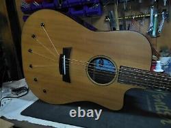 Htf Babicz Identifie La Guitare Acoustique Dreadnaught Avec Ohsc Tone! Fabriqué Aux États-unis