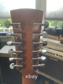 Ibanez 14-05k18052007 12 Cordes Guitare Acoustique Porcelaine Fait Rarement Joué