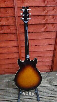Ibanez Artist Am50 1983 Guitare Électrique Semi-acoustique Faite Japon Gibson Pickups