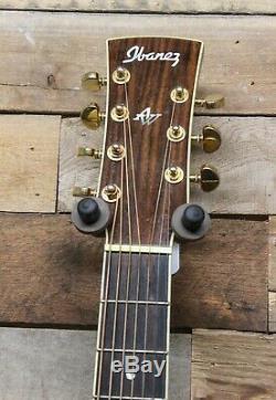 Ibanez Artwood Aj307ece Guitare Acoustique À 7 Cordes De Fabrication Coréenne Avec Micro Fishman